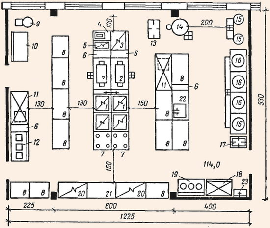 Схема 14 примерный план